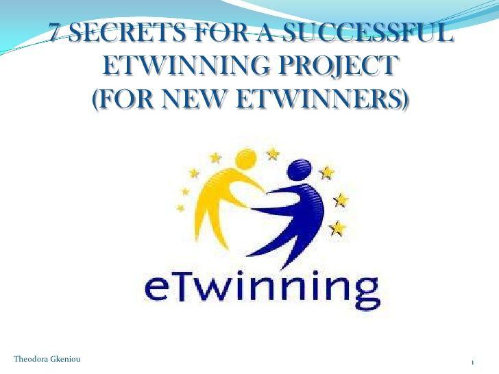 7 secrets for a successful etwinning project