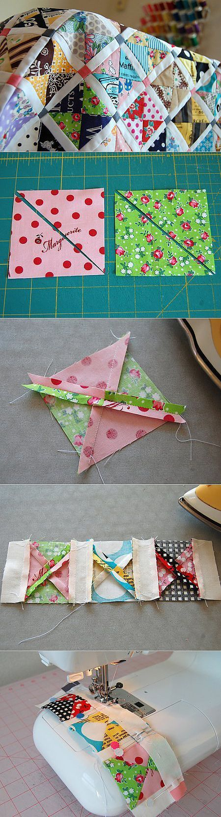 Quilting for beginners: master class in sewing of a cover