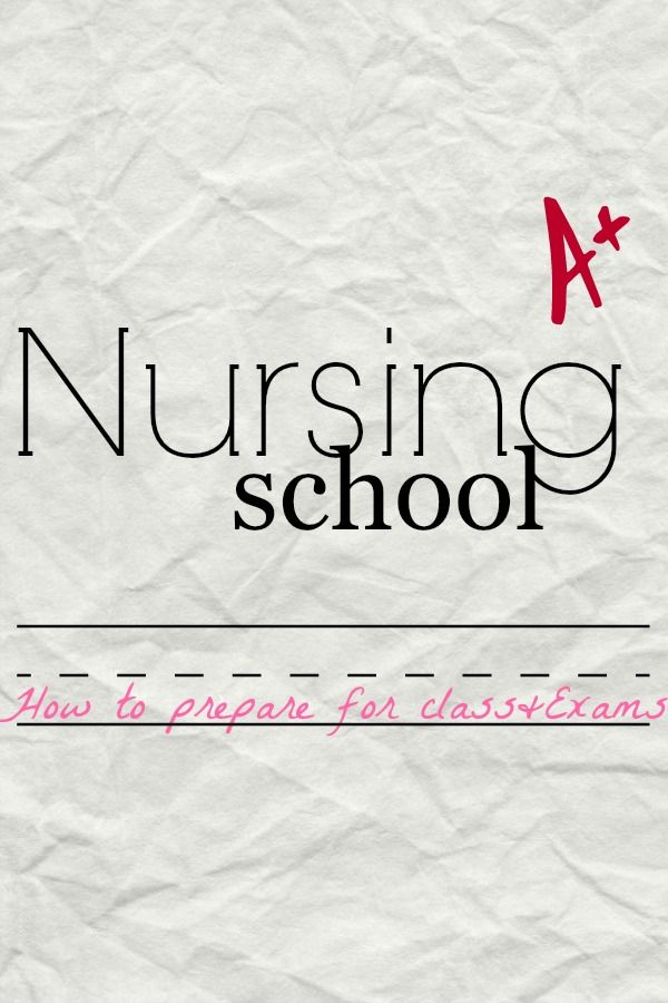 Nursing student study tips. How to study for nursing school. #NursingStudent