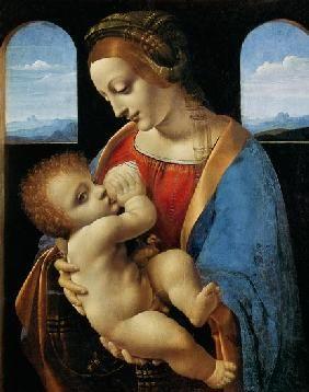 Leonardo da Vinci - Madonna Litta