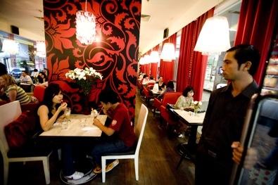 Drink - Café Terrace, District 7, Ho Chi Minh City