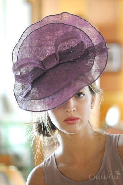 #tocado #Cherubina #invitada #boda #sombrero #headpiece #hat #attendance #wedding #bow