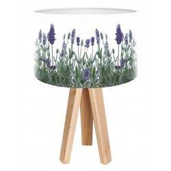 Lampa stołowa mini-trójnóg Pachnąca Lawenda