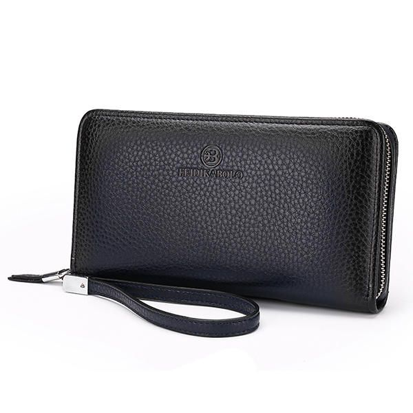 High Capacity Multi-function PU Leather Clutch Bag Durable Men Bag  - Banggood Mobile