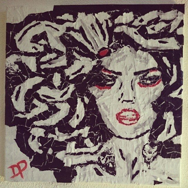 Medusa by Don Pennings 50x50 cm
