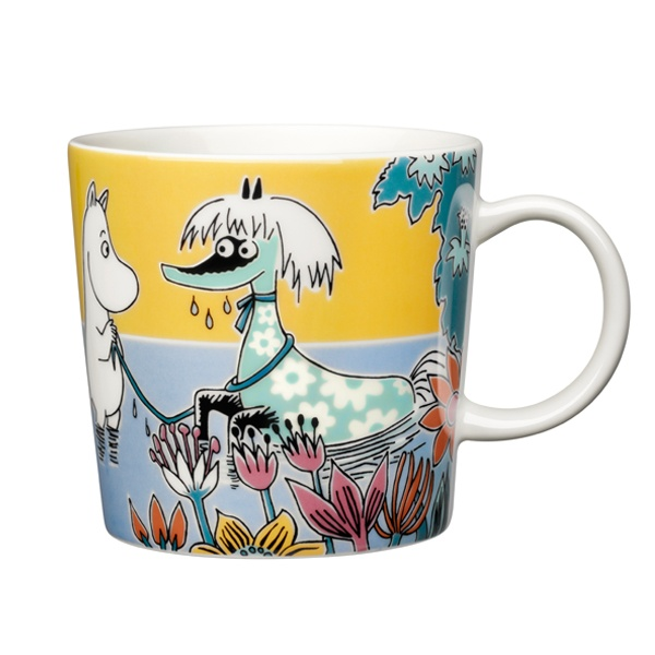 Moomin mug Primadonna's horse, this may have to be my next one... (although normally don't like the ones with too many colours)