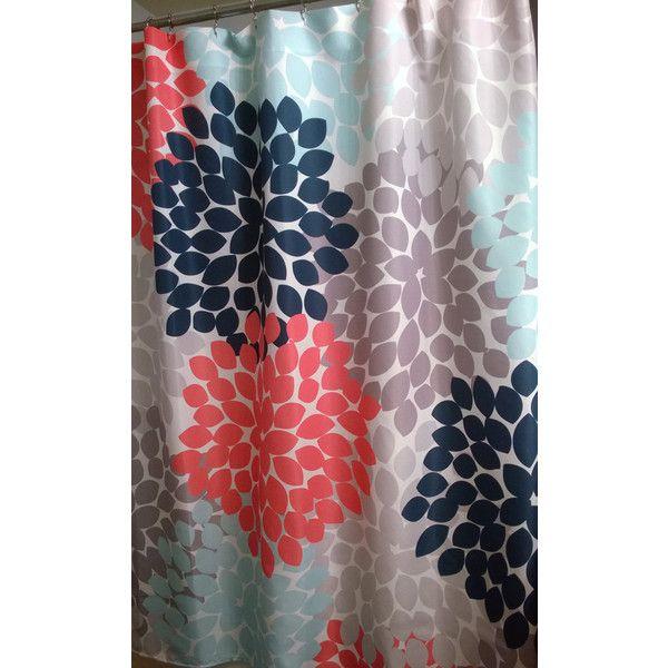Best 25+ Navy shower curtains ideas on Pinterest | Bathroom ...