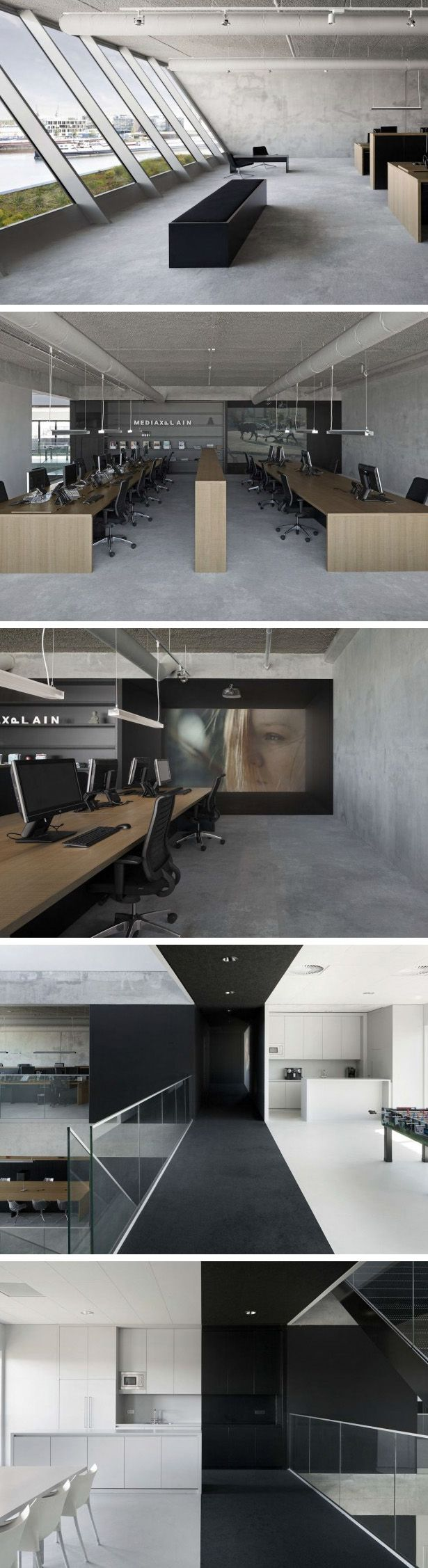 i29 Interior Architects collaborated with VMX Architects to create the office for MediaXplain, a media agency in Amsterdam, The Netherlands.