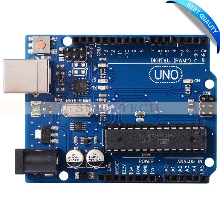 UNO R3 MEGA328P ATMEGA16U2 Development Board Microcontroller for Arduino USB Cable #Affiliate