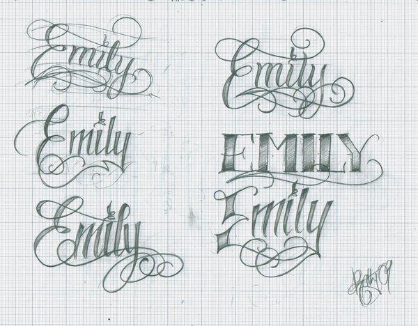 doodle art name Emilie - Recherche Google