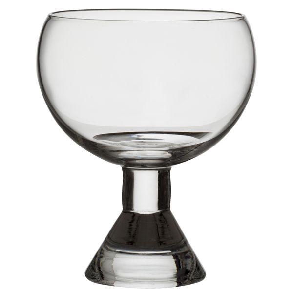 Juhla glass, 2 pcs, by Tapio Wirkkala.