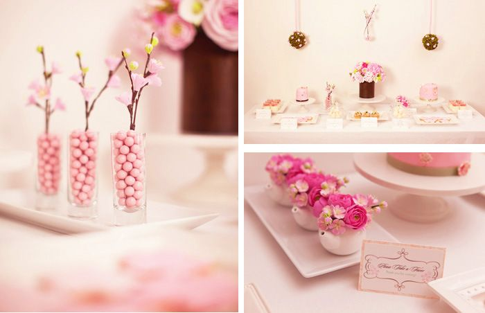 Cherry Blossom Branch tutorial including templates and printables
