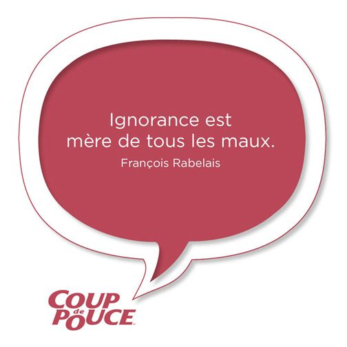 #citation #ignorance #maux