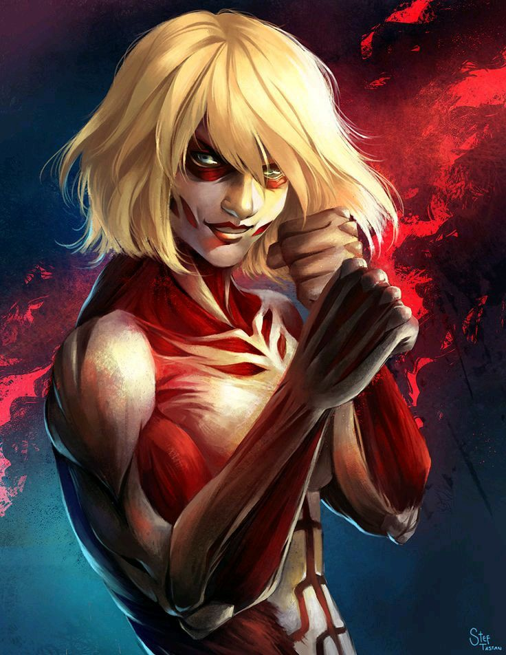 The first time I saw the female Titan, I always had the feeling who she was...