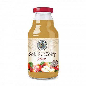 Sok tłoczony jabłkowy - Produkty Benedyktyńskie    Sok tłoczony jabłkowy, wytwarzany jest w tradycyjny sposób ze świeżych owoców, metodą tłoczenia na zimno, co pozwala na zachowanie zdrowotnych wartości soku....