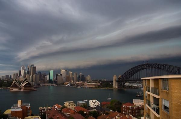 Sydney Storm Clouds @OruePhotography 1/11/2014