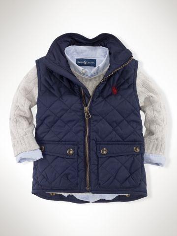 Ralph Lauren Infant Boys Outerwear & Jackets - RalphLauren.com