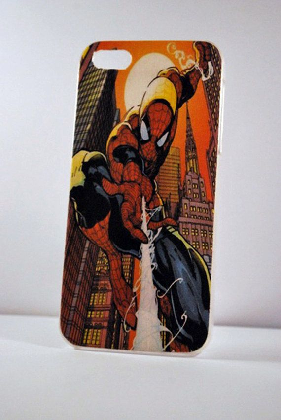 Spiderman Comic iPhone case  iPhone 5  iPhone 4s  by PartyofTen, $12.00