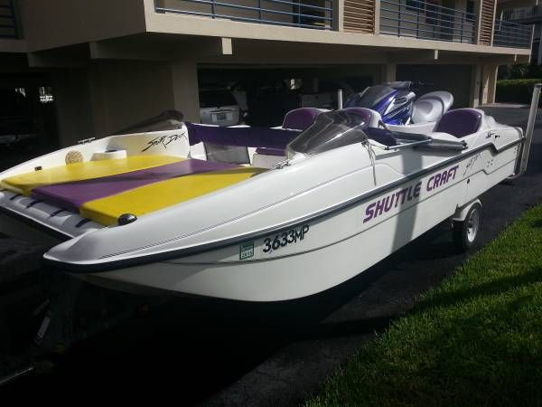 Largest shuttle craft sport deck ever made. Was for sale ...