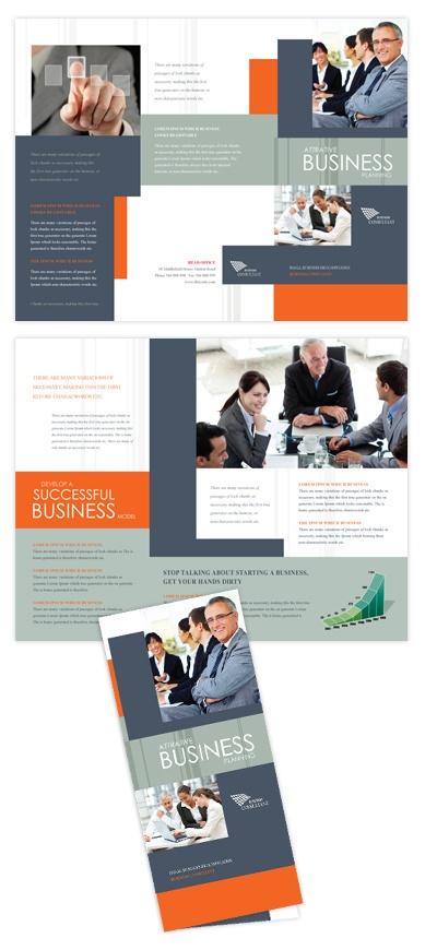 Corporate Business Tri Fold Brochure Template Corporate business tri fold…