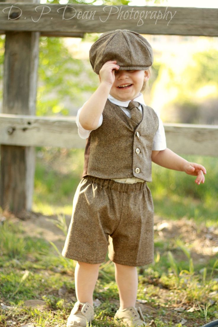 Ring bearer outfit  baby suit  tweed  baby ring by fourtinycousins, $99.00