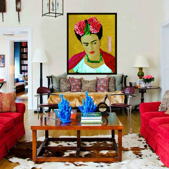 Frida Kahlo Instant Digital Download Fearless Art by ARTDECADENCE
