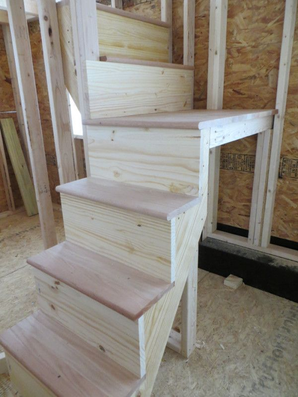 17 best ideas about tiny house stairs on pinterest small space stairs loft stairs and house - Stairs in a small space model ...