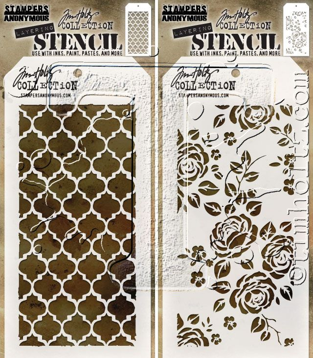 598 best crafts stencils embossing mats images on for Tim holtz craft mat
