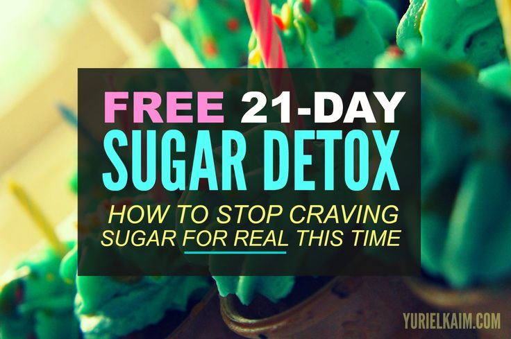 Free 21-Day Sugar Detox. Instant Download. Just Print and Go!