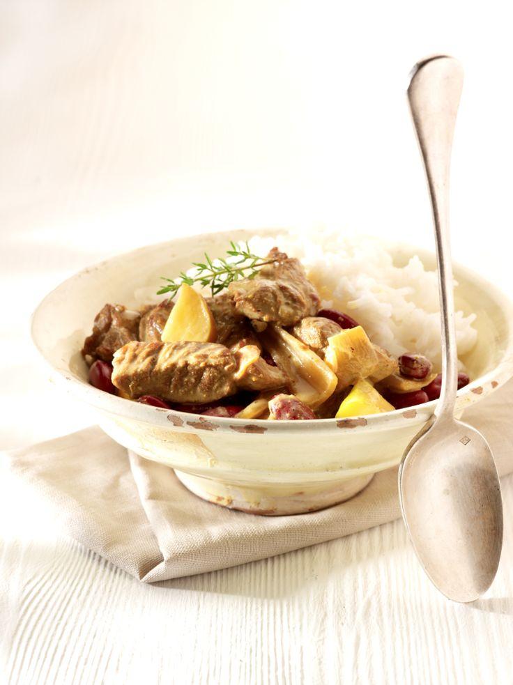 Recept voor lamsragout met curry en rijst | njam!