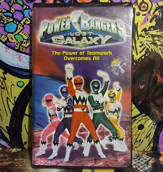 Power Rangers  Lost Galaxy VHS  #PowerRangers #VHS #90s #90skid