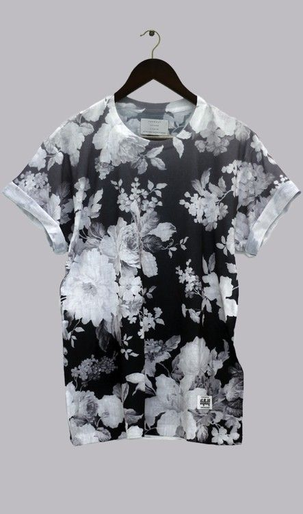 Shirt Thfkdlf Black And White Floral Unisex Sway Dark Grunge Blouse Soft  Grunge Emo Kawaii Lovely Kawaii Dark T Shirt Floral T Shirt Black And White  Shirt ...