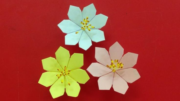 Make a beautiful paper flower | Easy origami flowers for beginners making | DIY-Paper Crafts