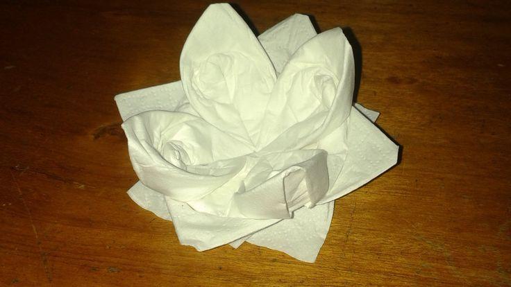 Origami: fior di loto, ninfea