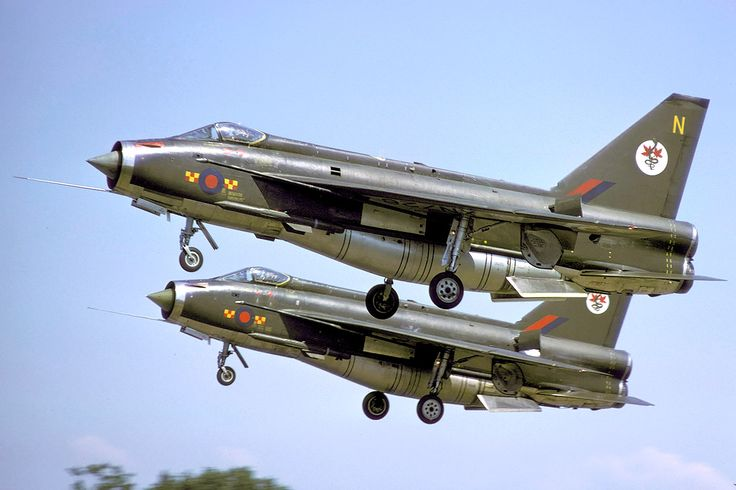 BAC Lightnings 92 Squadron West Germany