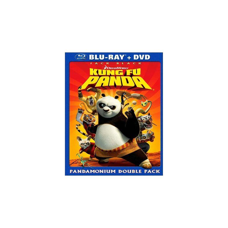 Kung Fu Panda (2 Discs) (Blu-Ray/Dvd) (Blu-ray)