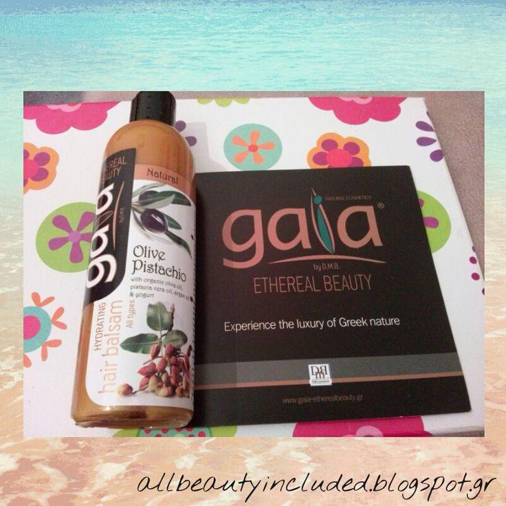 All Beauty Included: Gaia Hair balsam olive pistacio!!!