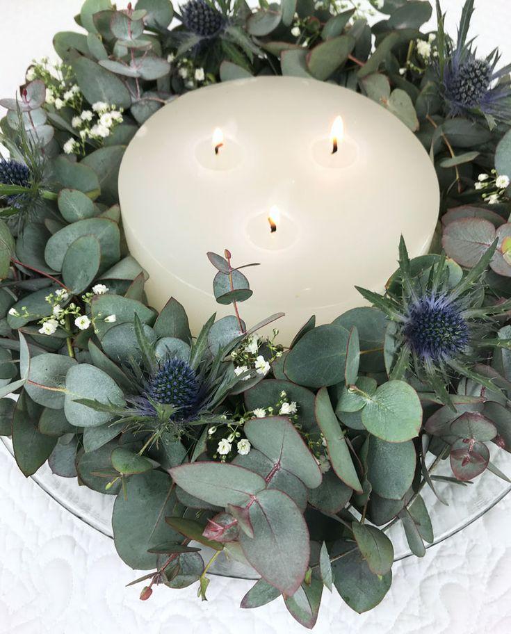 Krans van eucalyptus  – Adventskranz