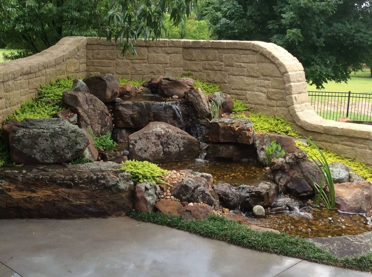 15 best disappearing pondless waterfall ideas for your oklahoma landscape images on pinterest