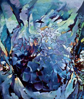 Blå meteor