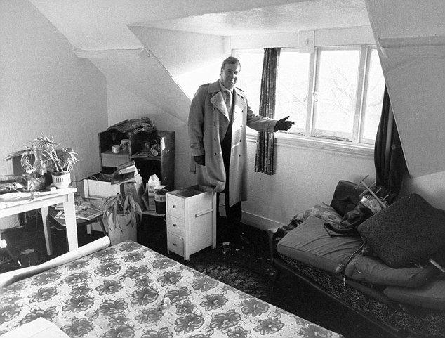 Dennis Nilsen's bedroom at Cranley Gardens