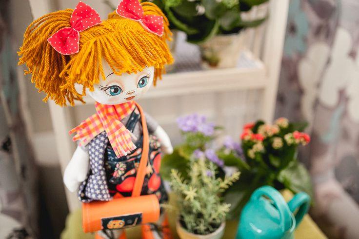K1017 Helper. Doll sewing kit KUKLA NOVA #nova_sloboda #sewing #handmade #doll #toy #kukla_nova