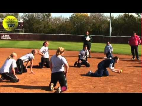 The Everyday Drill -The Fastpitch Softball TV Show Episode 109. The NFCA held a camp at Texas Women's University. We attended and filmed Coach Dozen from Northwestern teaching her everyday drill.    Visit the Fastpitch TV Show's website at Fastpitch.TV