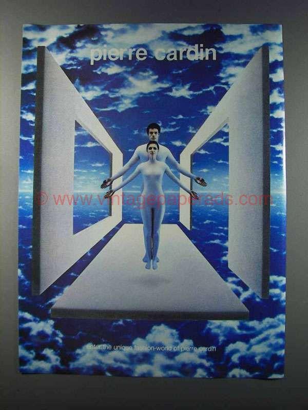1981 Pierre Cardin Fashion Ad