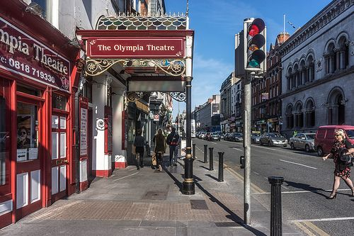 The Olympia Theatre On Dame Street - Dublin (Ireland)