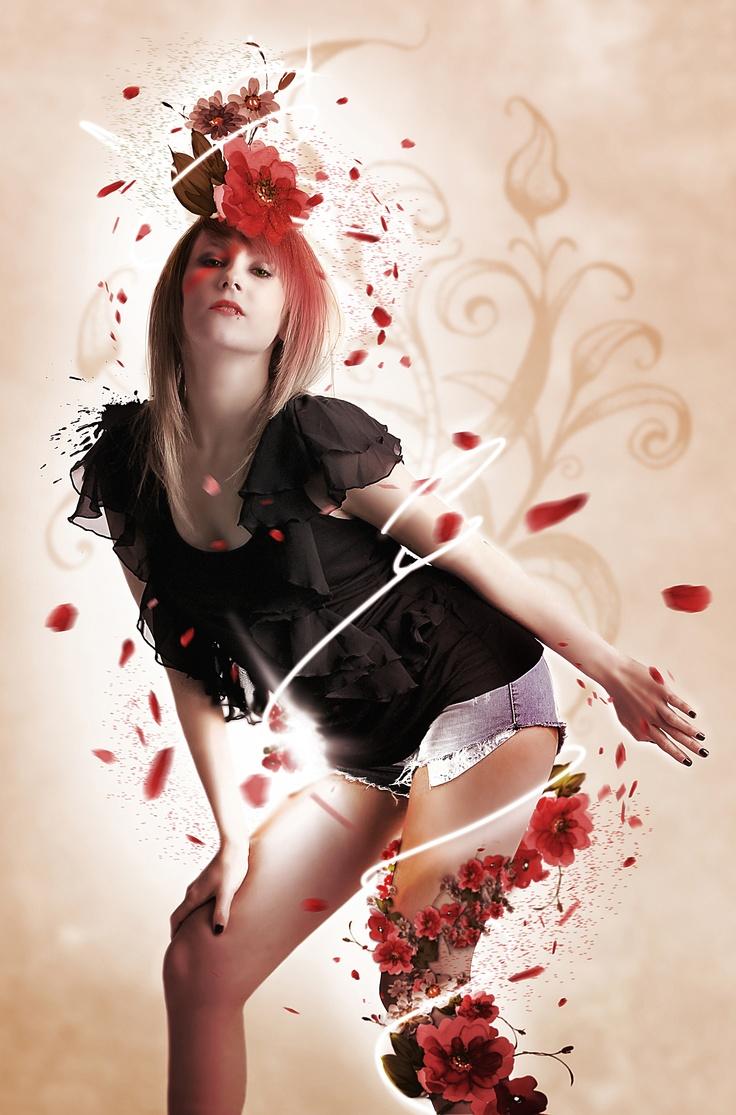 My Flower !  Photoshop - 2011  Plus de travaux sur   ==> www.cubriks.com