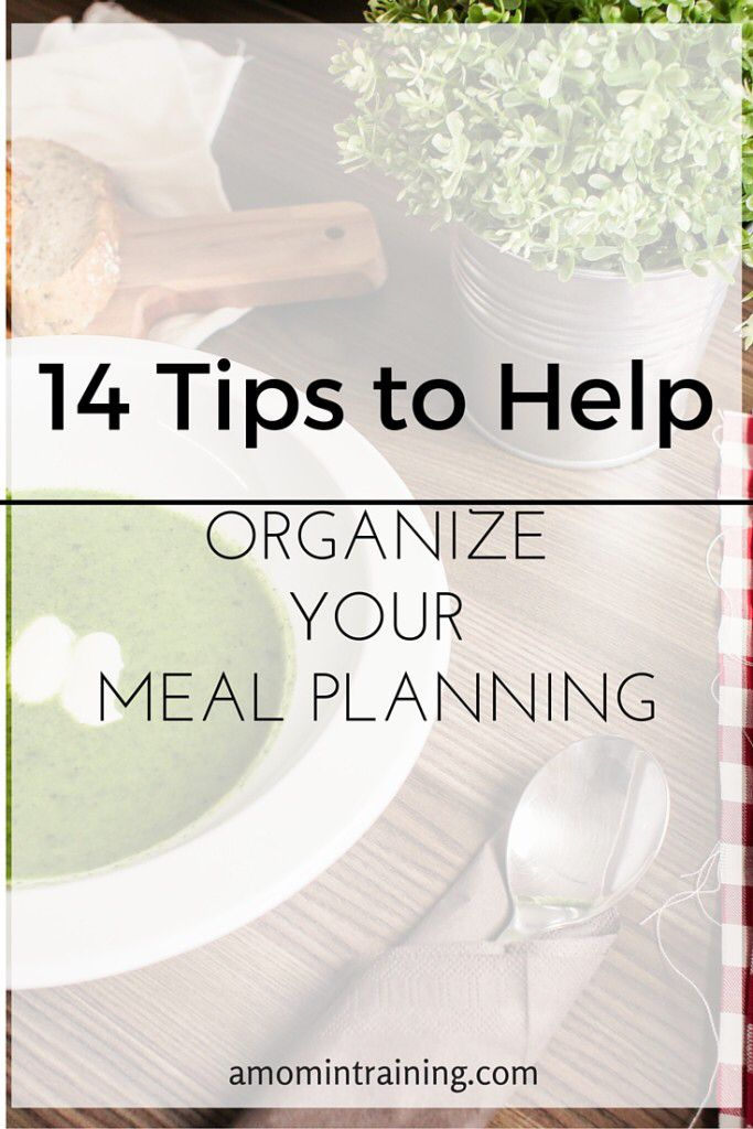 Excellent tips on meal planning!  Love how it's all laid out for us,  tips,  methods, the whole thing :)