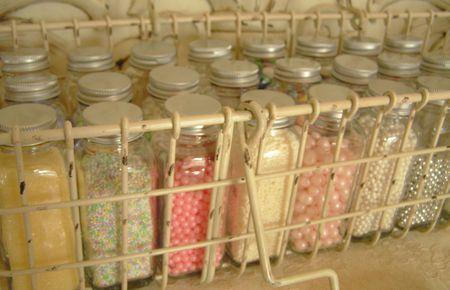 jars for sprinkles