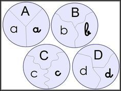 Alphabet dans les 3 écritures