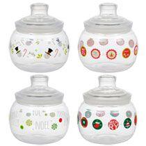 Bulk Holiday Plastic Candy Jars at DollarTree.com